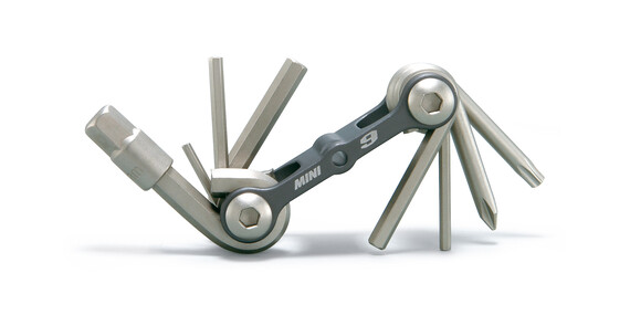 Topeak Mini 9 Bike Tool grey